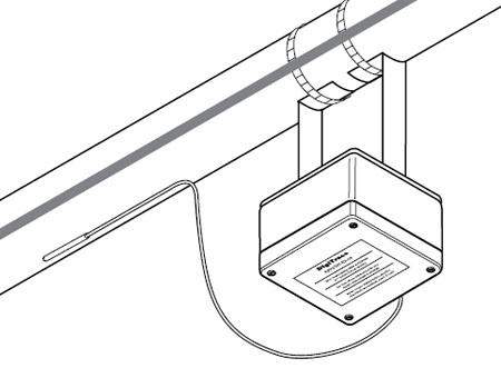 Электронный управляющий термостат RAYSTAT EX-03