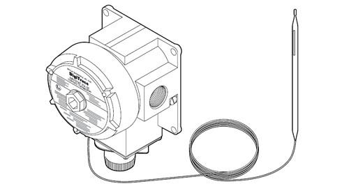 RAYSTAT EX-02 Управляющий термостат